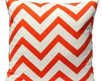 Chevron Pillow | Pillow Cover | Zig Zag | Throw Pillow | 18 x 18 Pillow | Home Decor | Gray Pillow | Gray Chevron Pillow | Gift | Rustic