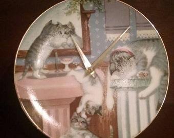 Cutest Kitty Clock Ever -