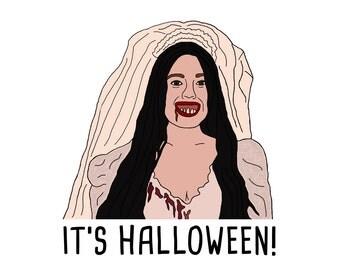 Mean Girls Halloween Card