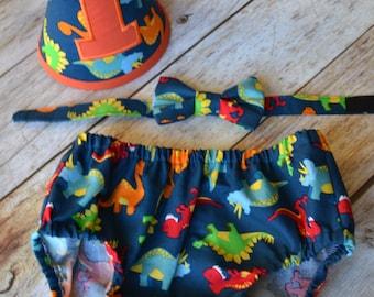 Boy Cake Smash Outfit, Dinosaur Cake Smash Outfit, Cake Smash Outfit, Boys 1st Birthday, Birthday Outfit, Boys Birthday, Photo Prop