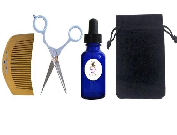 organic men 39 s beard set grooming kit man 39 s beard by. Black Bedroom Furniture Sets. Home Design Ideas