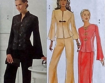 Butterick Sewing Pattern - Misses Jacket, Skirt and Pants Pattern #B5150 - UNCUT & Factory Folded - Sizes 16+18+20+22+24