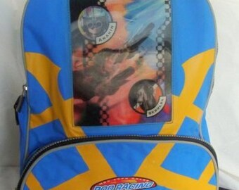 Star Wars The Phantom Menace Backpack with 3-D Pod Racers