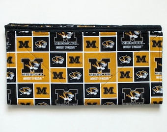 Mizzou inspired MicroFiber Paw Wipe, Drool Towel, golf towel