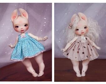 CUSTOM ORDER for Dust of Dolls Zouh Spün dress ~ Fabric choice