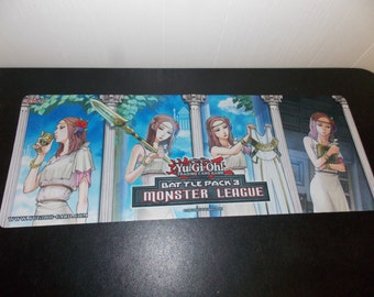 Yu-Gi-Oh! Battle Pack 3 Monster League SHONEN JUMP ANIME Playmat 1996