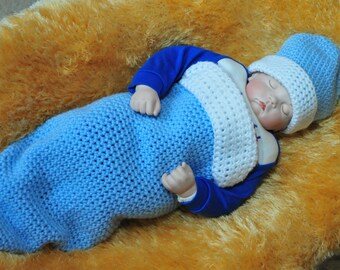 Baby Cocoon - Baby Wrap, photography Prop