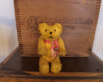 "Vintage Teddy Bear 5 1/2"" Small"