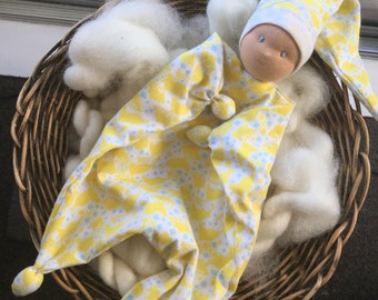 Limited Edition Silvercap Blanket Doll, Waldorf Inspired