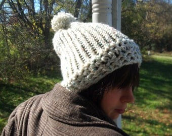 White Peppermint Hat