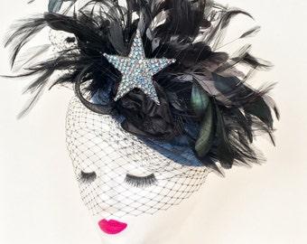 Vintage Burlesque Fascinator
