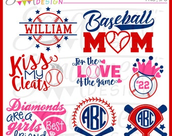 baseball clipart, lettering clipart, sports clipart, baseball monogram, diamond clipart, baseball clip art, baseball lettering,