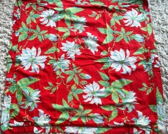 Vintage, bright colorful cushion