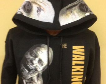 The Walking Dead  Zombie black hoodie