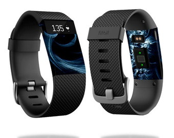 Skin Decal Wrap for Fitbit Blaze, Charge, Charge HR, Surge Watch cover sticker Stone Waves