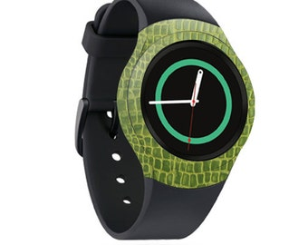 Skin Decal Wrap for Samsung Gear S2, S2 3G, Live, Neo S Smart Watch, Galaxy Gear Fit cover sticker Croc Skin