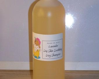 Lavender Dry Skin Formula Handmade Dog Shampoo