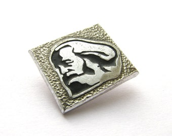 Karl Marx,  Communism,  Vintage collectible badge, Soviet Vintage Pin, Soviet Union, Made in USSR, 70s - 80s