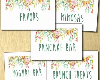 Baby/Bridal Shower Table Cards