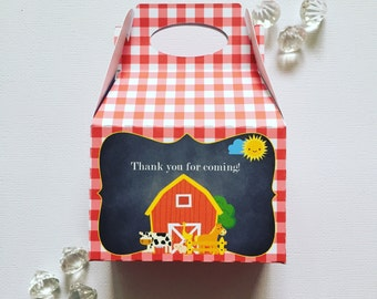 Barnyard treat boxes