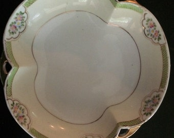 Charming vintage Nippon hand palnted three part small bowl