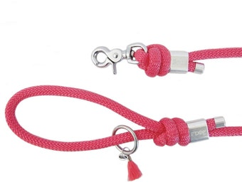 Dog leash - raspberry Paracord dog leash - Paracord dog leash - raspberry - leash - Leash Paracord leash - Raspberry