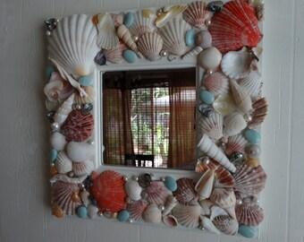 Seashell Accent Mirror
