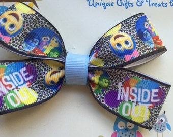 Disney Inside Out Hair Bow
