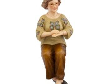 DOLLHOUSE MINIATURE dolls Dot Sitting #HW3027