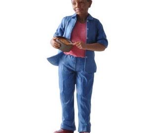 DOLLHOUSE MINIATURE dolls JANET #HW3069
