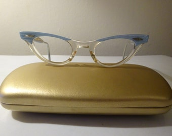 Vintage 1950's Cat Eye Glasses American Optical Kids 5 1/2 Frames  - FREE SHIPPING