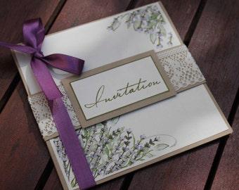 Announcements range |mariage lavender tones of mauves|