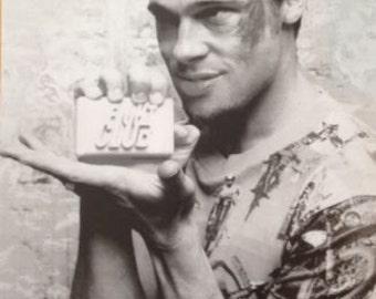 FIGHTCLUB BRAD Pitt Soap poster print 24 x 36