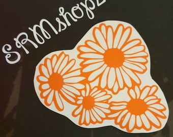 cute flower sticker