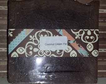 Handcrafted Soap Coconut Cream Pie 2 BARS