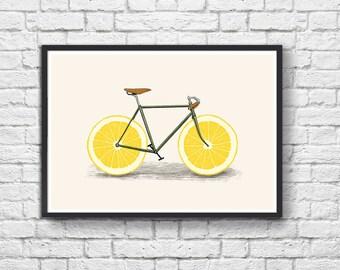 Affiche Art-Poster 50 x 70 cm - Zest Bike
