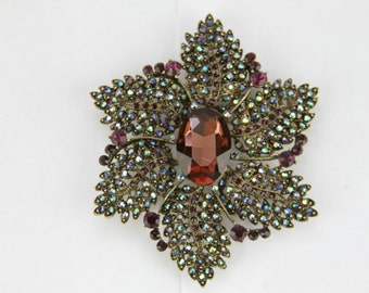 Joan Rivers Vintage Floral Brooch Jr-209