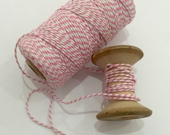 Pink Bakers Twine - 110 yards