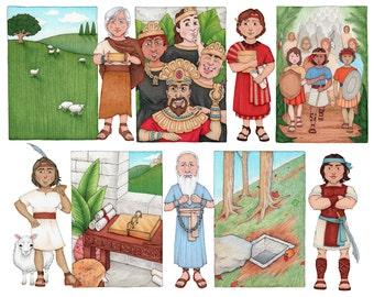 Follow The Prophet Clip Art, Book of Mormon set 2