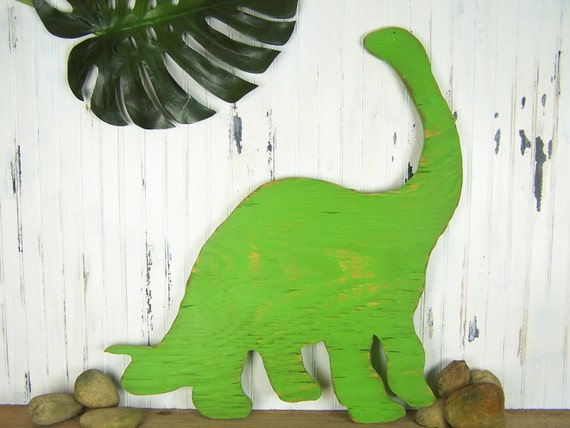 Brontosaurus Wooden Dinosaur Decor Jurassic Sign Kids Room Decor Brachiosaurus Good Dinosaur Nursery Wall Art Kids Room Decor Dinosaur Art