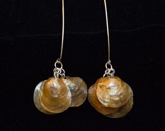 Dangle Jingle Shell Earrings