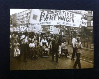 Black and White Picture Postcard, Riksforbundet Mot Reumatism, Stockholm Sweden Postcard