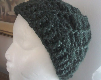 Crocheted winter hat - adult size