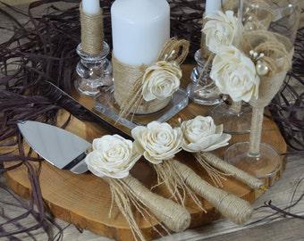 Wedding Toasting Glasses Rustic Toasting Flutes Wedding Champagne Flutes Bride and Groom Wedding Glasses Bridal Shower Gift