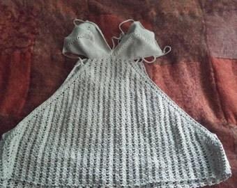 Hand Crocheted Bikini Top