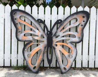 father 39 s day gift large outdoor wall art fish decor. Black Bedroom Furniture Sets. Home Design Ideas