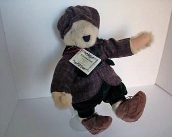 Fuzzy VanderBear A Christmas Carol: Bearly In Tune Dressed Teddy Bear