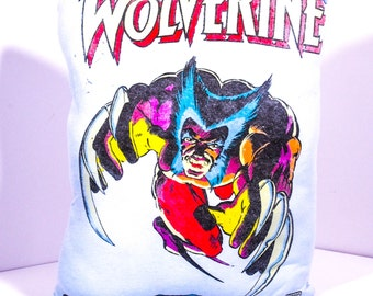 Handmade and Hansen Wolverine X-men Decorative Pillow! !