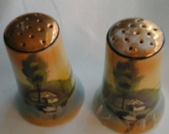 Salt & Pepper Shakers - Made in Japan