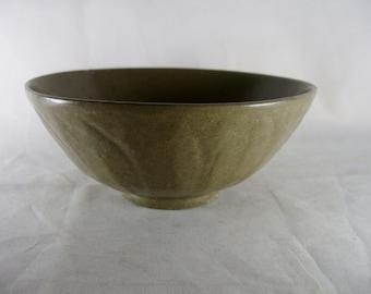 MING Celadon Lotus Bowl Chinese 6-1/2 In Antique